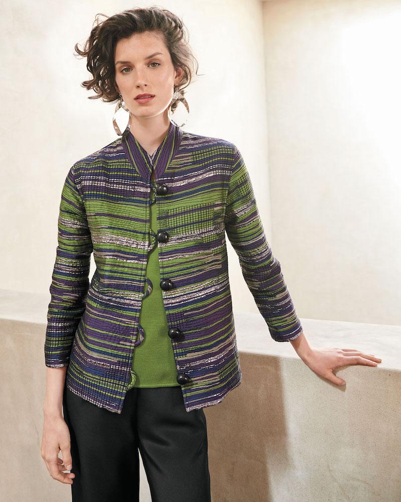 Caroline Rose Romancing The Stone Jacquard Jacket