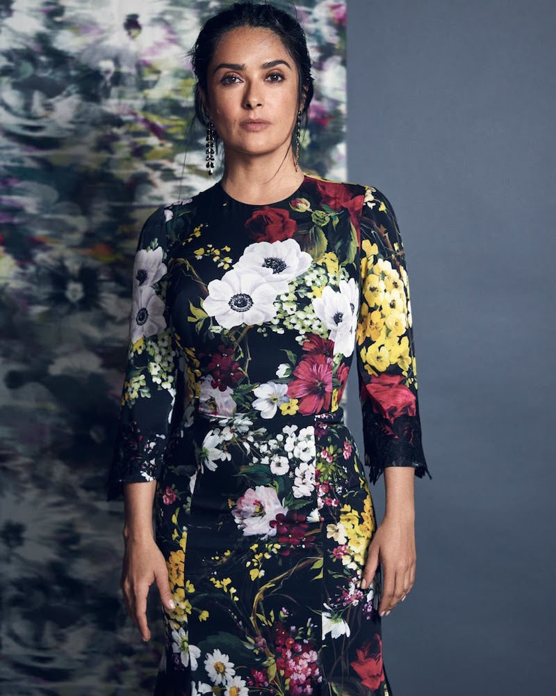 Dolce & Gabbana Lace-Trimmed Floral-Print Silk-Blend Midi Dress
