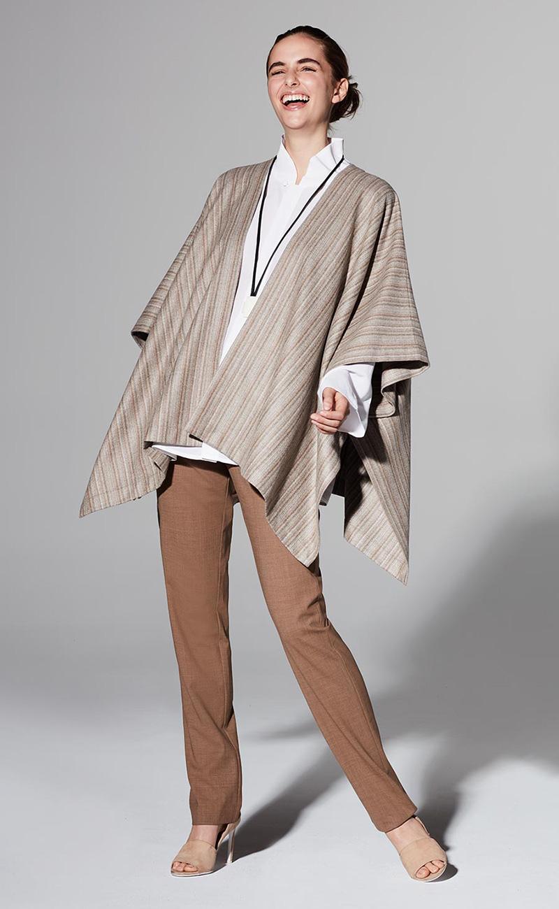 Eskandar Extra Wide Cashmere Tabard