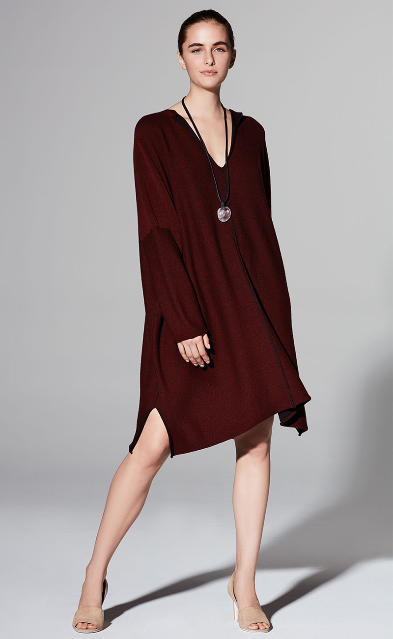 Eskandar Split-Neck Merino Wool Pullover
