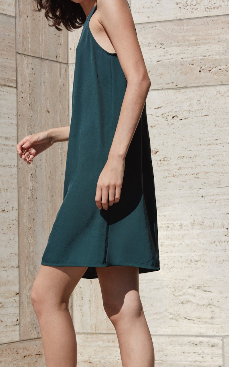 Everlane Japanese GoWeave High Neck Tank Dress