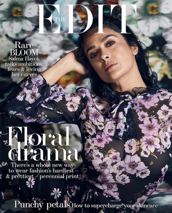 Force of Nature: Salma Hayek for The EDIT