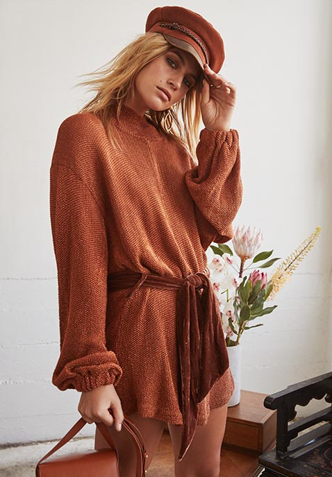 Free People Fete Sweater Dress