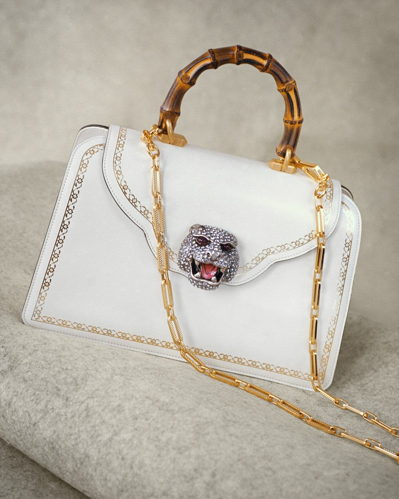 Gucci Gatto Medium Top Handle Bag