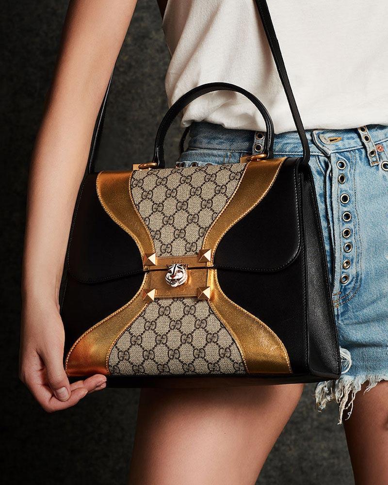 Gucci Iside Linea G Medium Shoulder Bag
