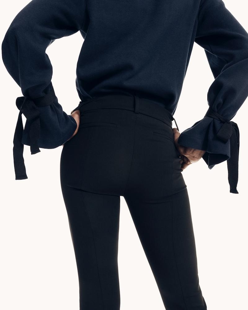 J.Crew Tie-Sleeve Sweatshirt