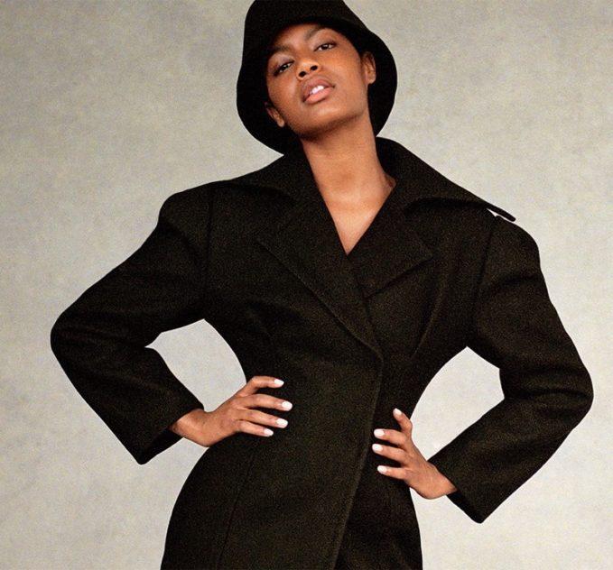 Jacquemus Le Manteau Fluted Wool Coat
