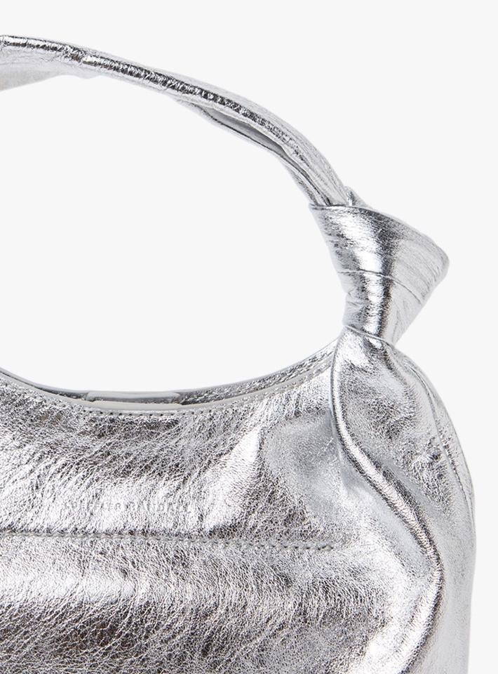 Loeffler Randall Mini Knot Tote in Silver