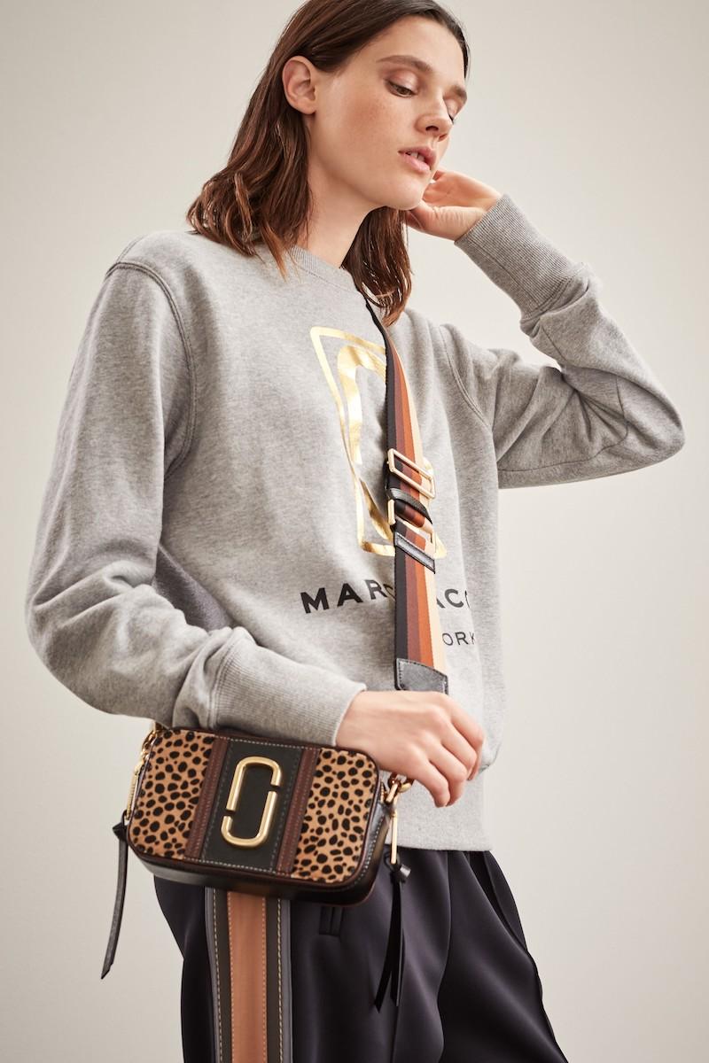 MARC JACOBS Snapshot Leopard Crossbody Bag