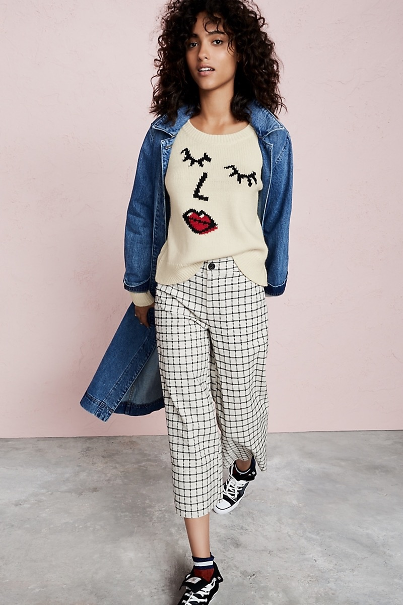 Madewell Making Faces Pullover Sweater
