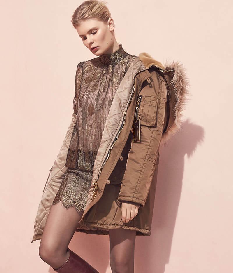 Marc Jacobs Snorkel Faux Fur Coat