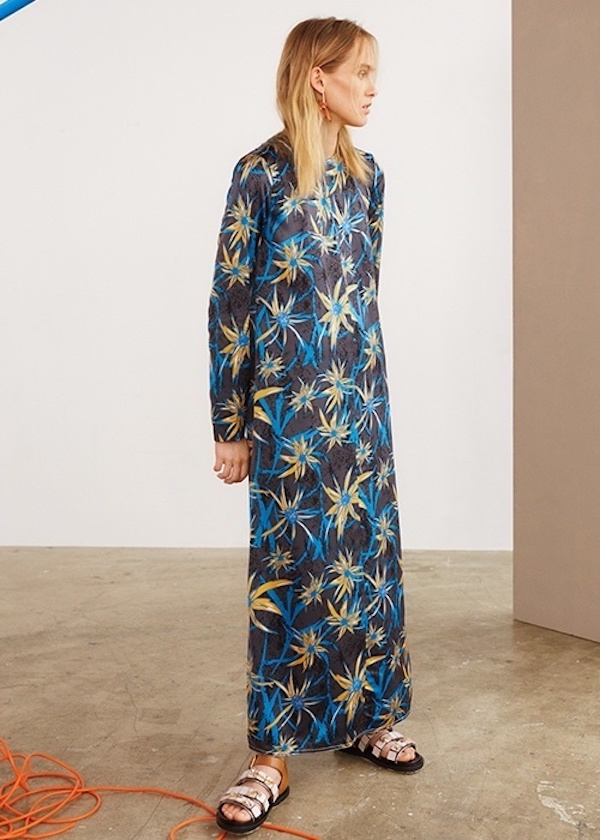 Marni Herbage-Print Shift Dress