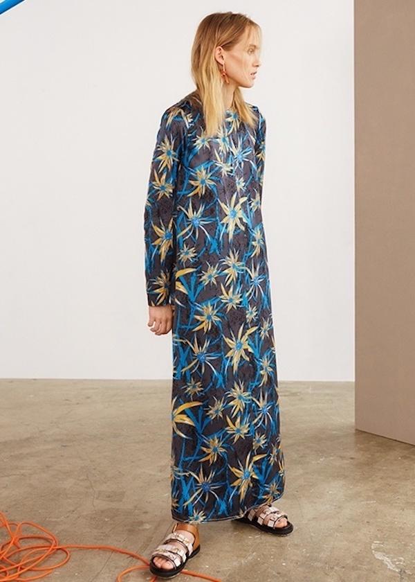 Marni Herbage-Print Shift Dress
