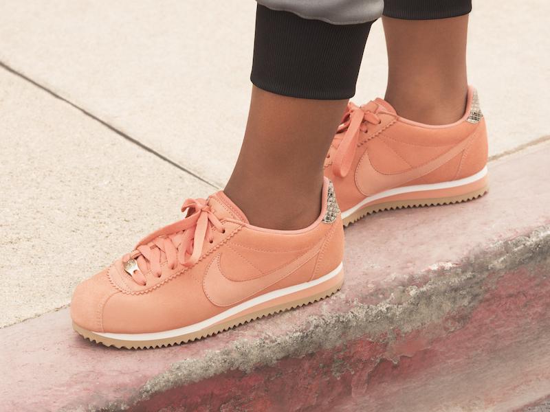 Nike x A.L.C. Classic Cortez Sneaker in Blush