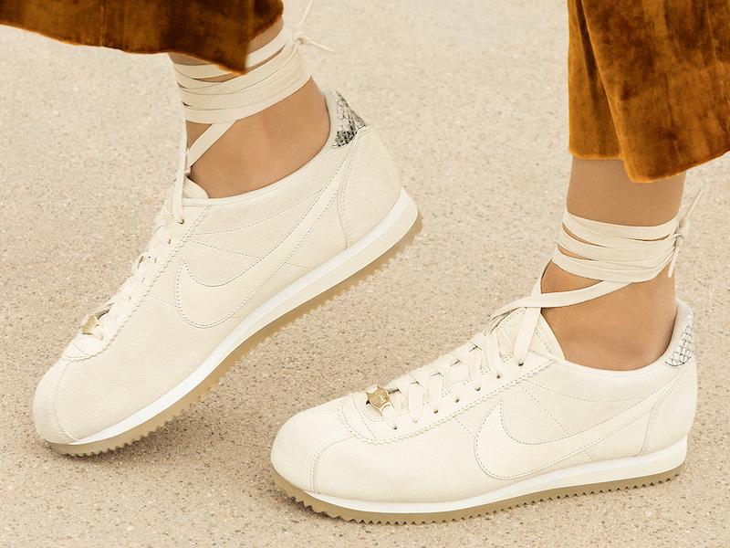 Nike x A.L.C. Classic Cortez Sneaker in White