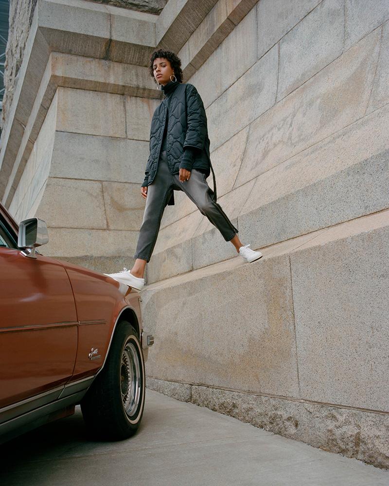 Nili Lotan Jackson Ankle Zip Jeans