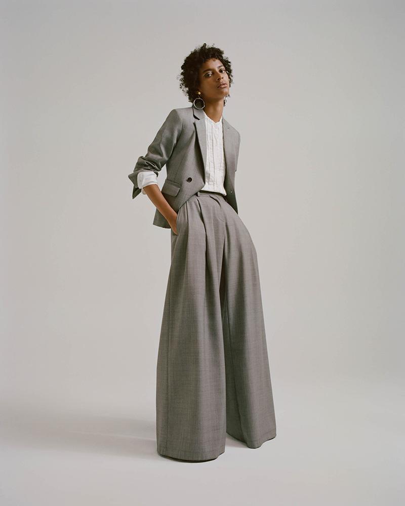 Nili Lotan Jefferson Virgin Wool Single-Button Blazer