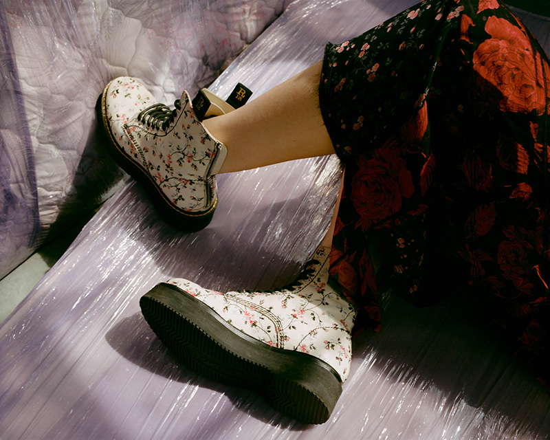 """R13 """"Stack"""" Embroidered Leather Ankle Boots"""