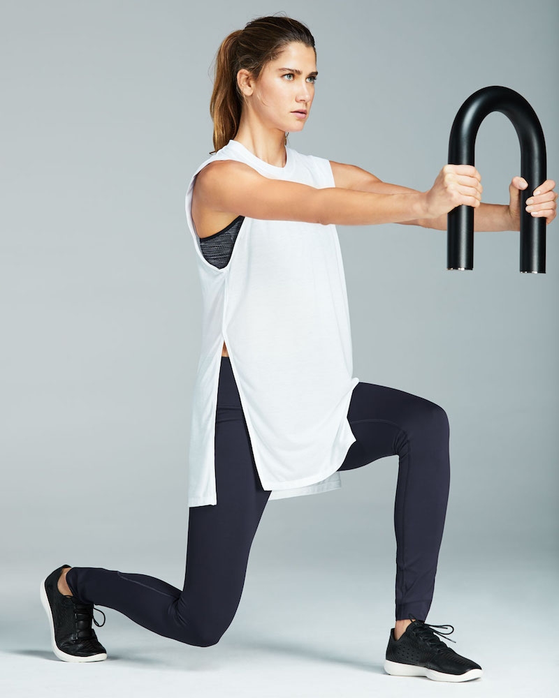 Under Armour Breathe Crewneck Sleeveless Side-Slit Tunic Tank