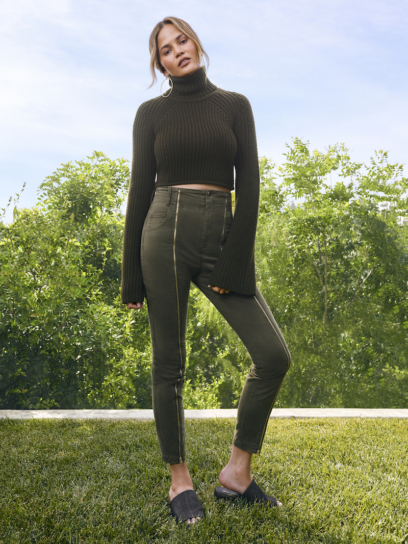 A.L.C. On Duty Irvyn Cropped Turtleneck Sweater