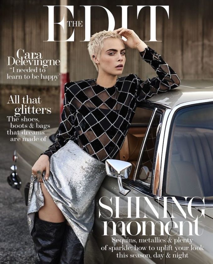 All That Glitters: Cara Delevingne for The EDIT
