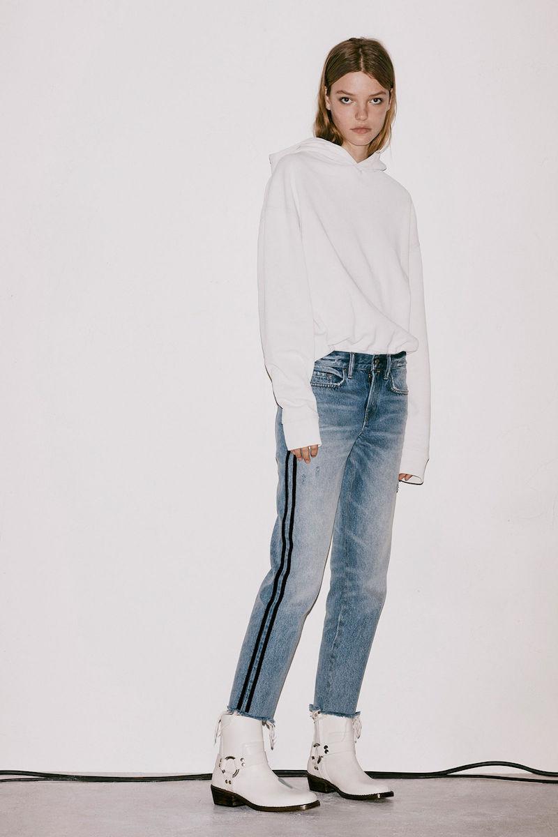 AllSaints Boys Stripe Jeans