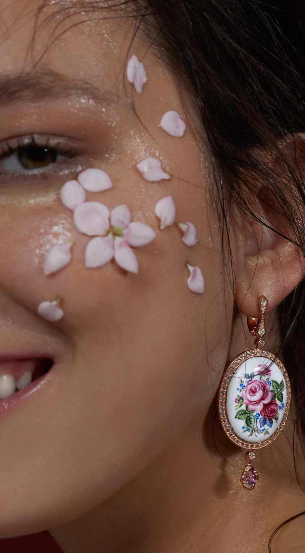 Axenoff Jewellery Garden Roses Earrings