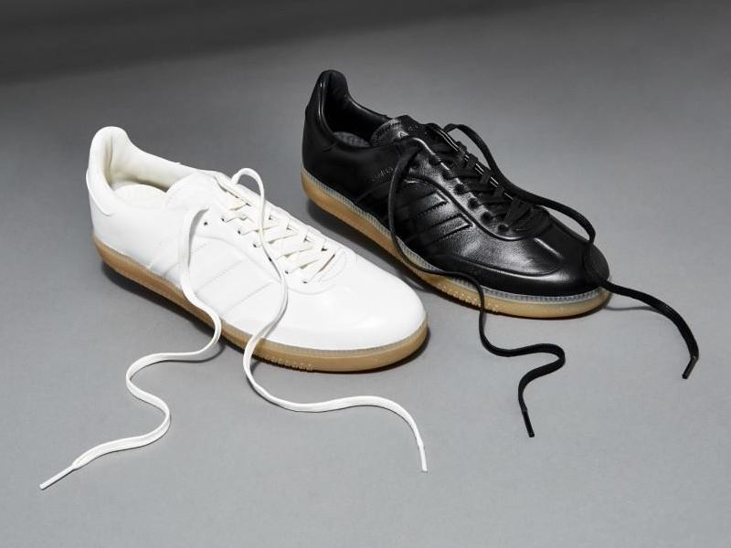 BNY Sole Series x adidas Samba Leather Sneakers