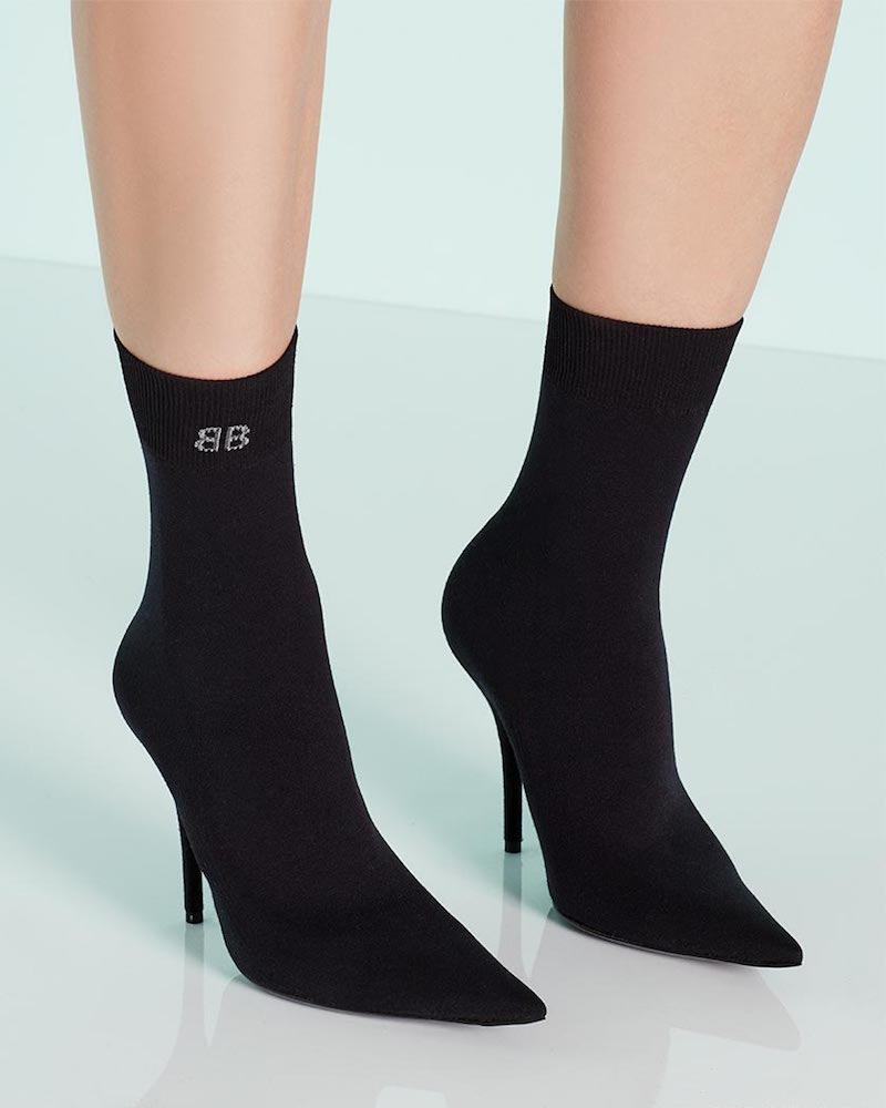 Balenciaga Jersey Sport Sock Bootie