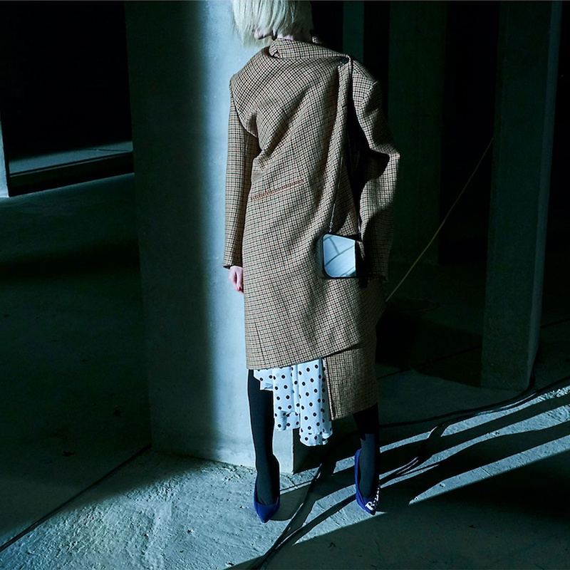 Balenciaga Pulled Single-Breasted Coat