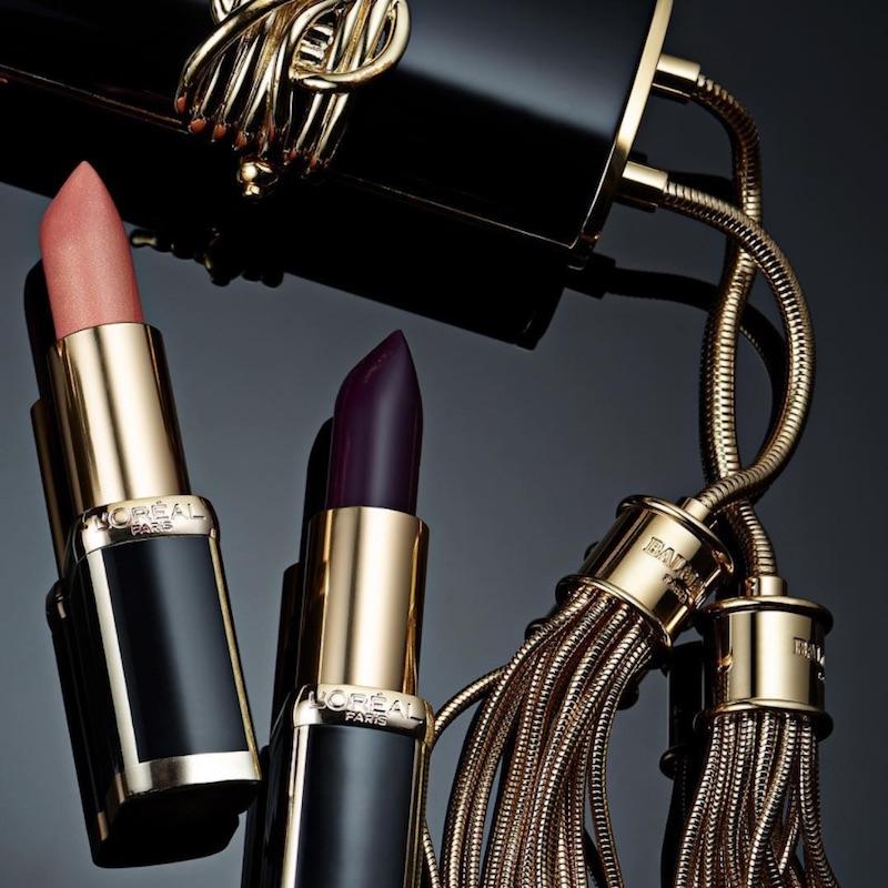 Balmain x L'Oréal Paris Capsule Lipstick Collection