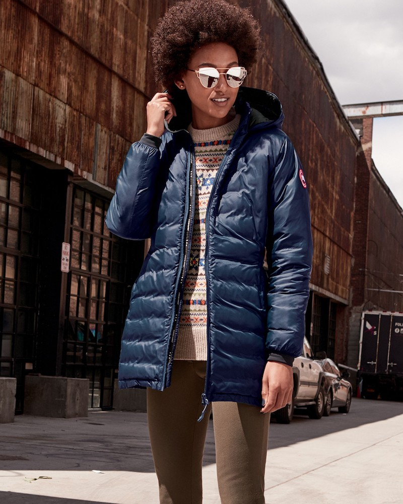 canada goose packable down jacket