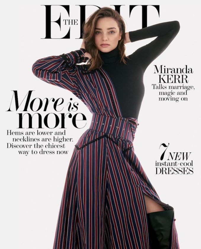 Cover-up Girl: Miranda Kerr for The EDIT
