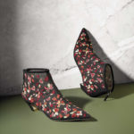 Dior Dioreve Hearts & Flowers Embroidered Booties