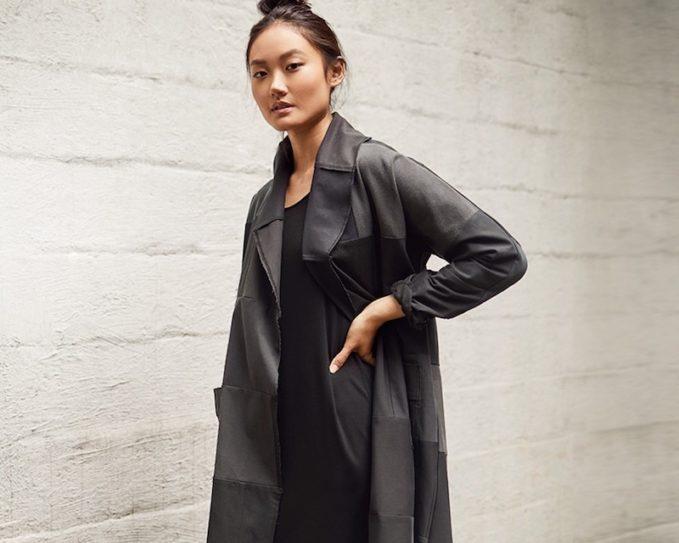 Eileen Fisher Long Kimono Jacket 1