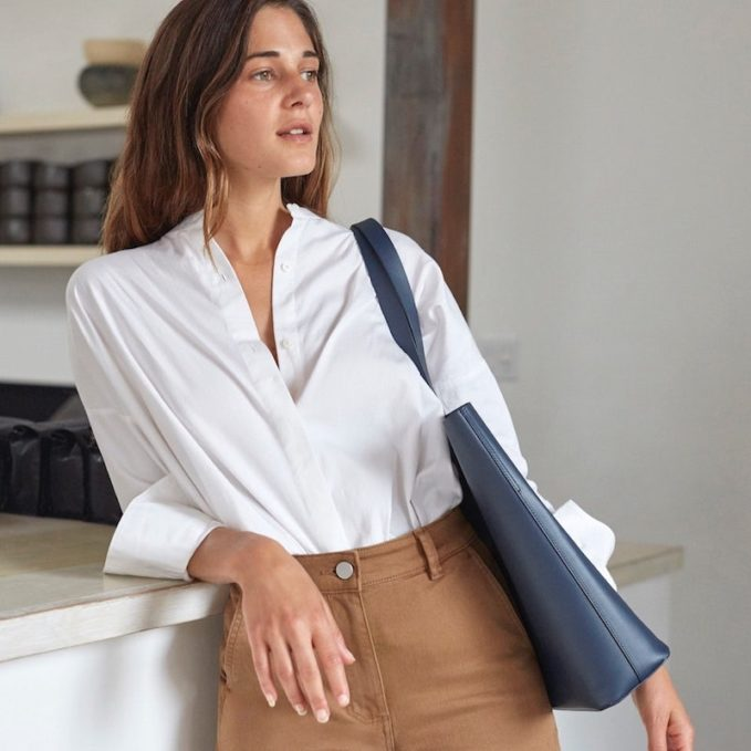 Everlane Day Market Tote in Navy