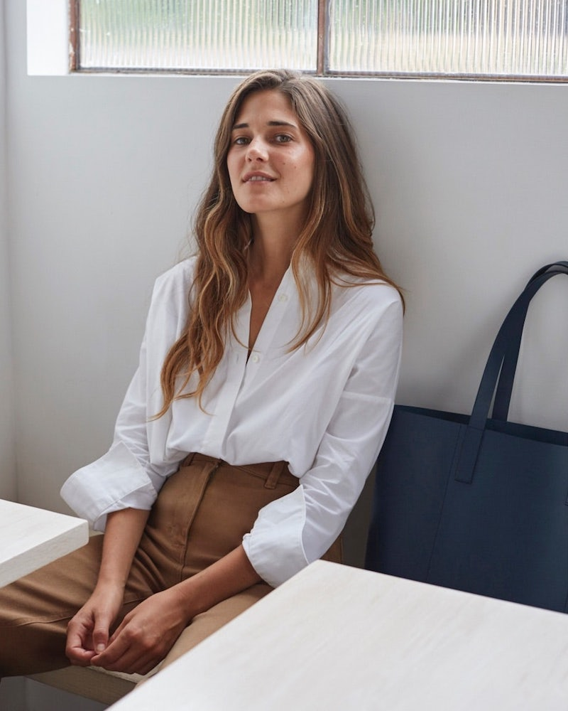 762120c31bb8 Everlane Day Market Tote in Navy