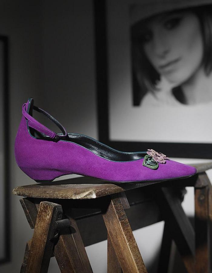 Fabrizio Viti Be My Valentine Ankle-Strap Flats