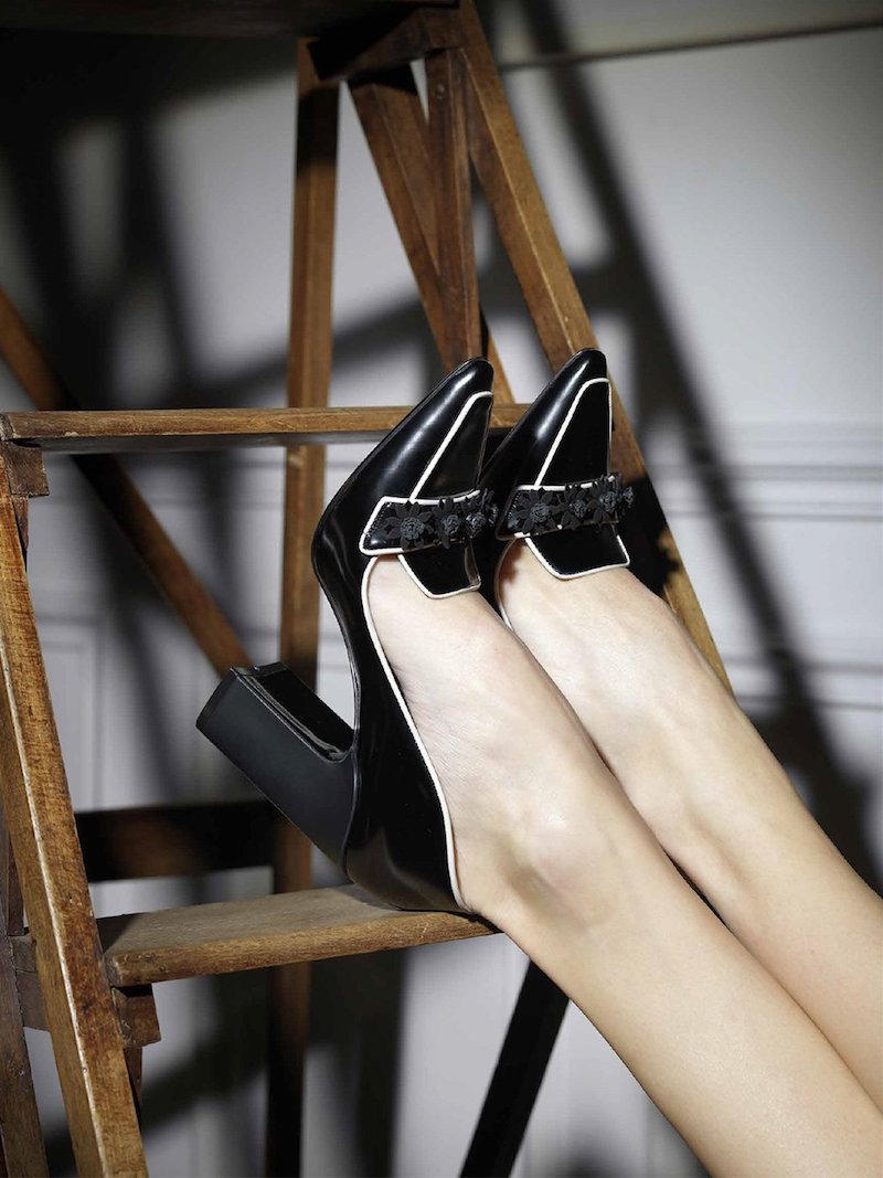 Fabrizio Viti Daisies City Loafer Heel
