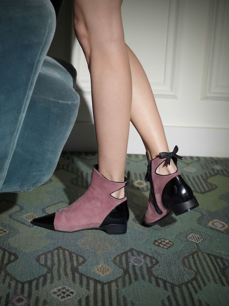 Fabrizio Viti Take A Bow Ankle Booties