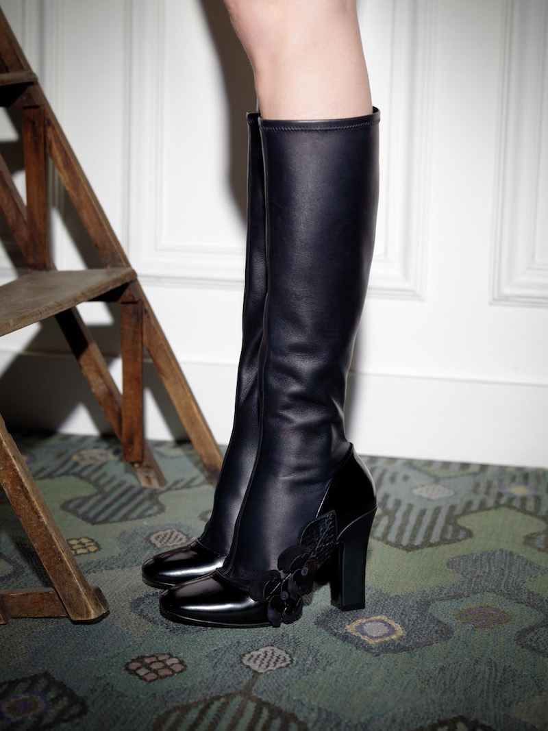 Fabrizio Viti Violets For Your Knee Boots