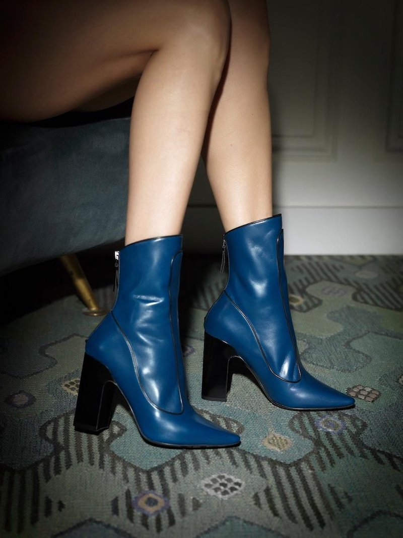 Fabrizio Viti Winter Timeless Leather Ankle Boots