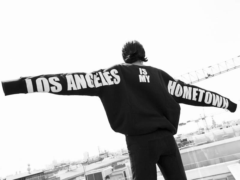Faith Connexion Los Angeles Hometown Cotton Sweatshirt