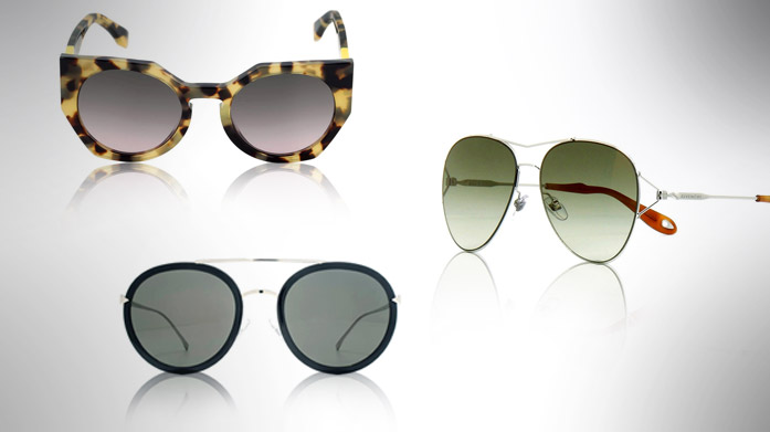 Fendi and Givenchy Sunglasses at BrandAlley