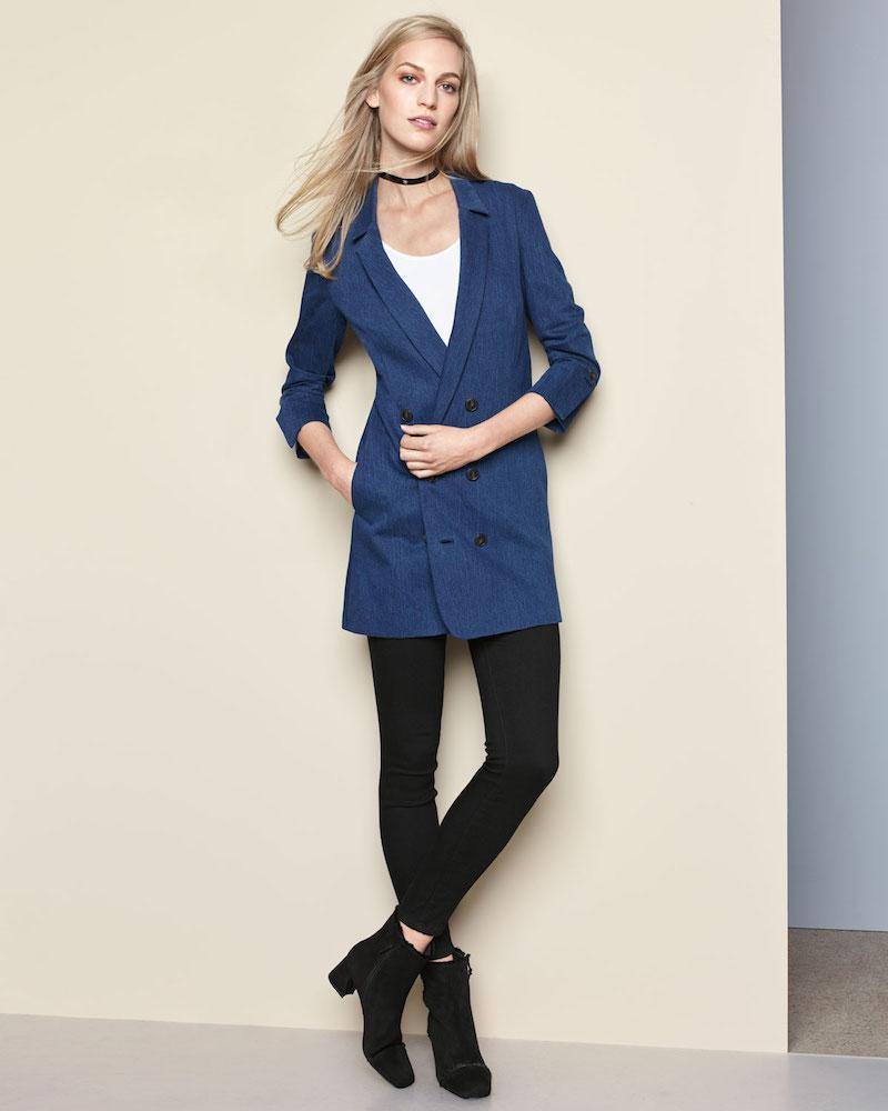 Halston Heritage Slim-Fit Ankle Pants with Paneled Waist Detail