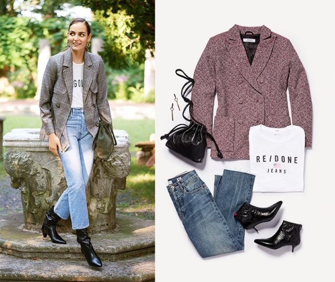 How To Wear Blazer + Jeans for Fall 2017
