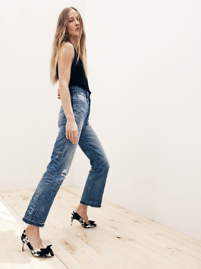 J.Crew Point Sur Cropped High-Rise Demi-Boot Jean