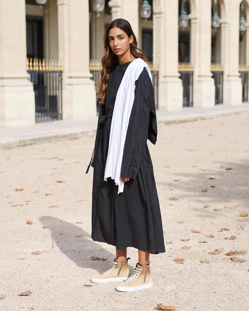 J.W. Anderson Trench Coat With Draped Collar