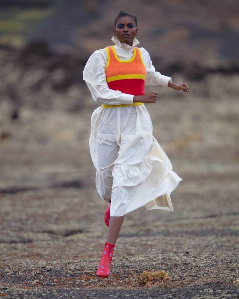 KENZO Lightweight Taffeta Maxi Dress