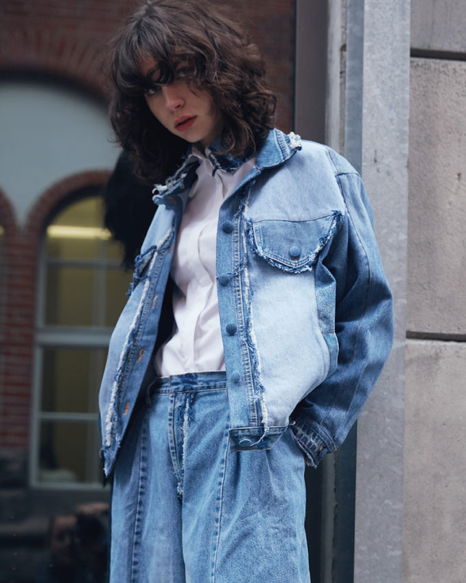Ksenia Schnaider Denim Jacket